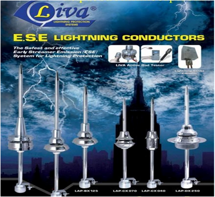 ESE Lightning Protection