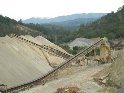 CRUSHER PLANT CONVEYOR BELT